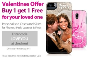 personalised valentines gift offer