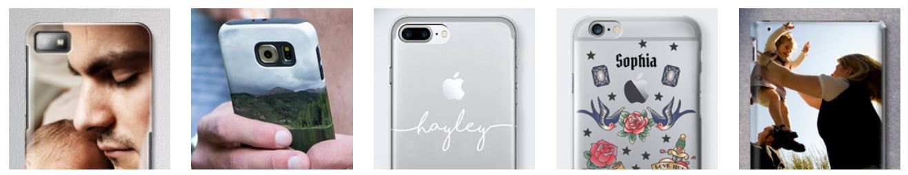 Take a look at our personalised phone cases