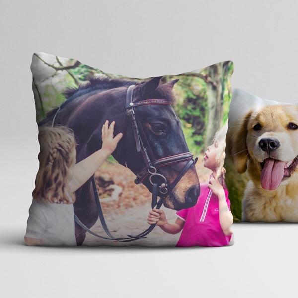 Pet Horse Photo Cushion