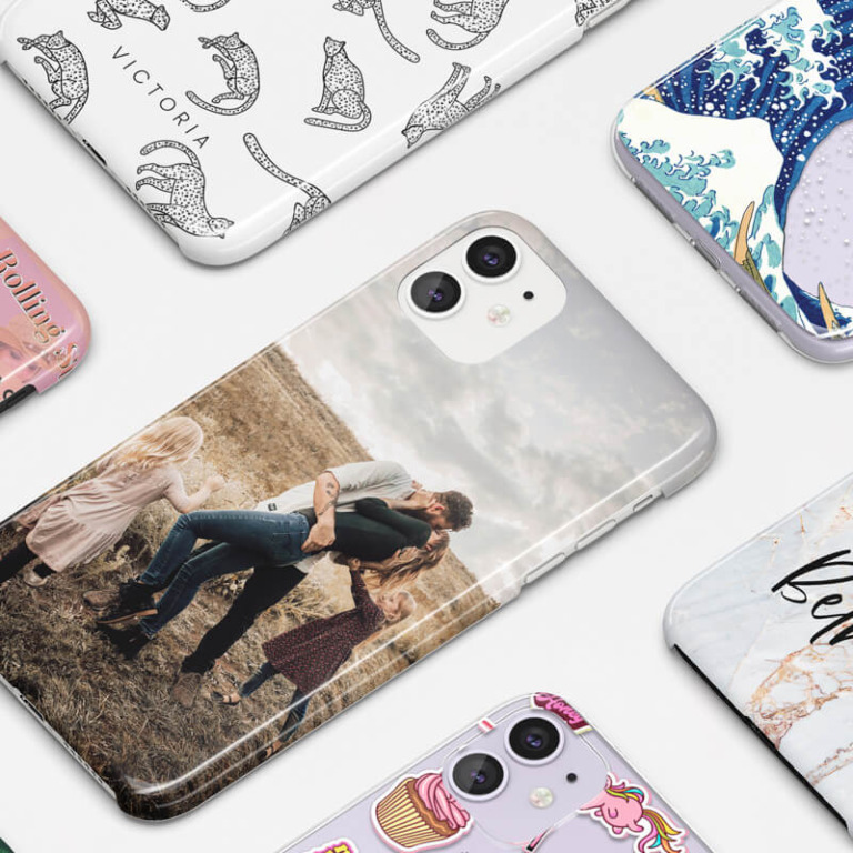 A STUNNING RANGE OF PHONE CASES - PERSONALISED BY YOU
