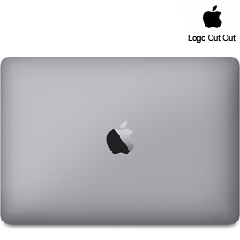 "12"" MacBook Skins - Logo Cut Out"
