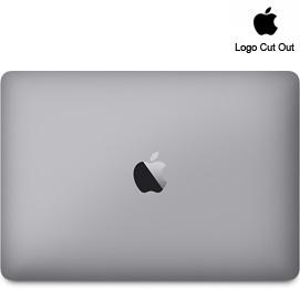 """12"""" MacBook Skins - Logo Cut Out"""