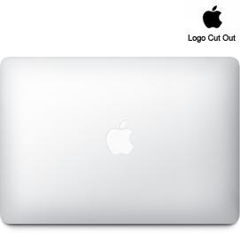 """13"""" MacBook Air  Skins (2010+) - Logo Cut Out"""