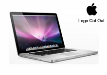 "17"" MacBook Pro Skins (2008+) - Logo Cut Out"