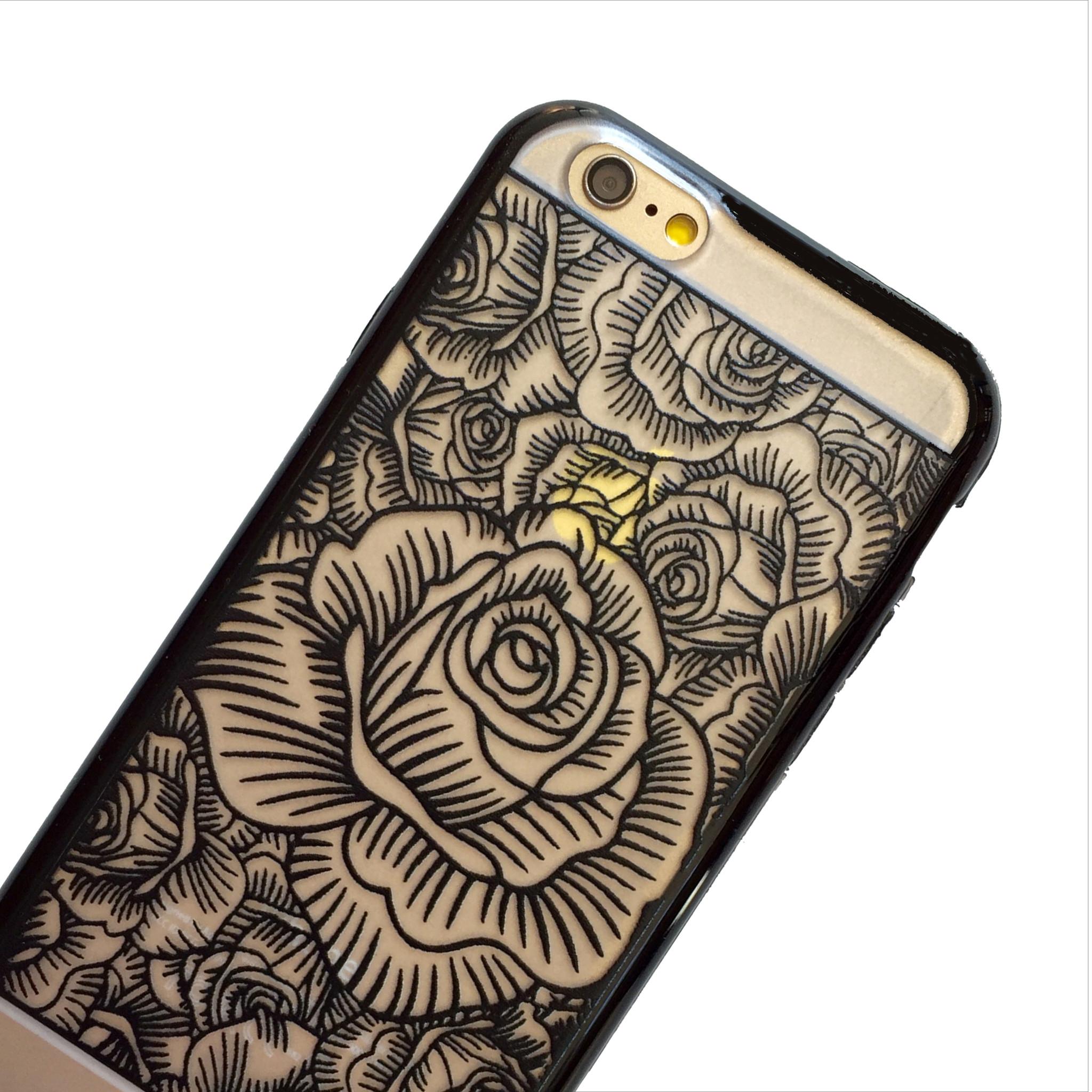 Black Blooming Roses