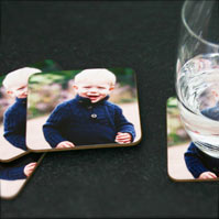 Hardboard Coaster Set of 4
