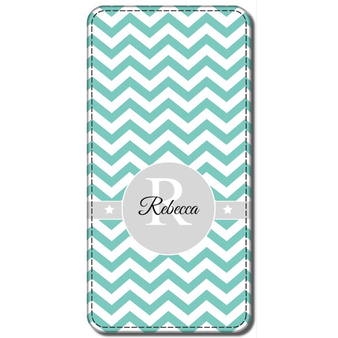 Monogram Faux Leather Phone Cases