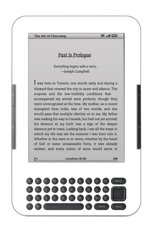 Kindle 3 (Keyboard) 2010 Skin 4068