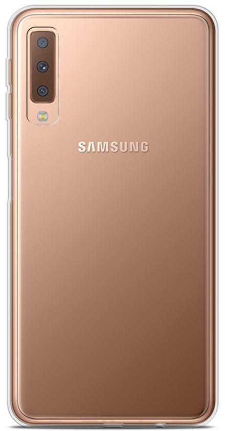 Galaxy A7 2018 Clear Soft Silicone Case 12998