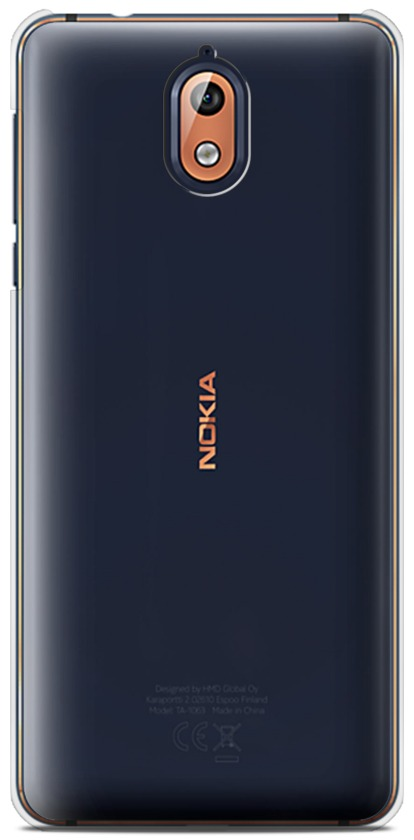 Nokia 3 2018 (3.1) Clear Hard Case 13000