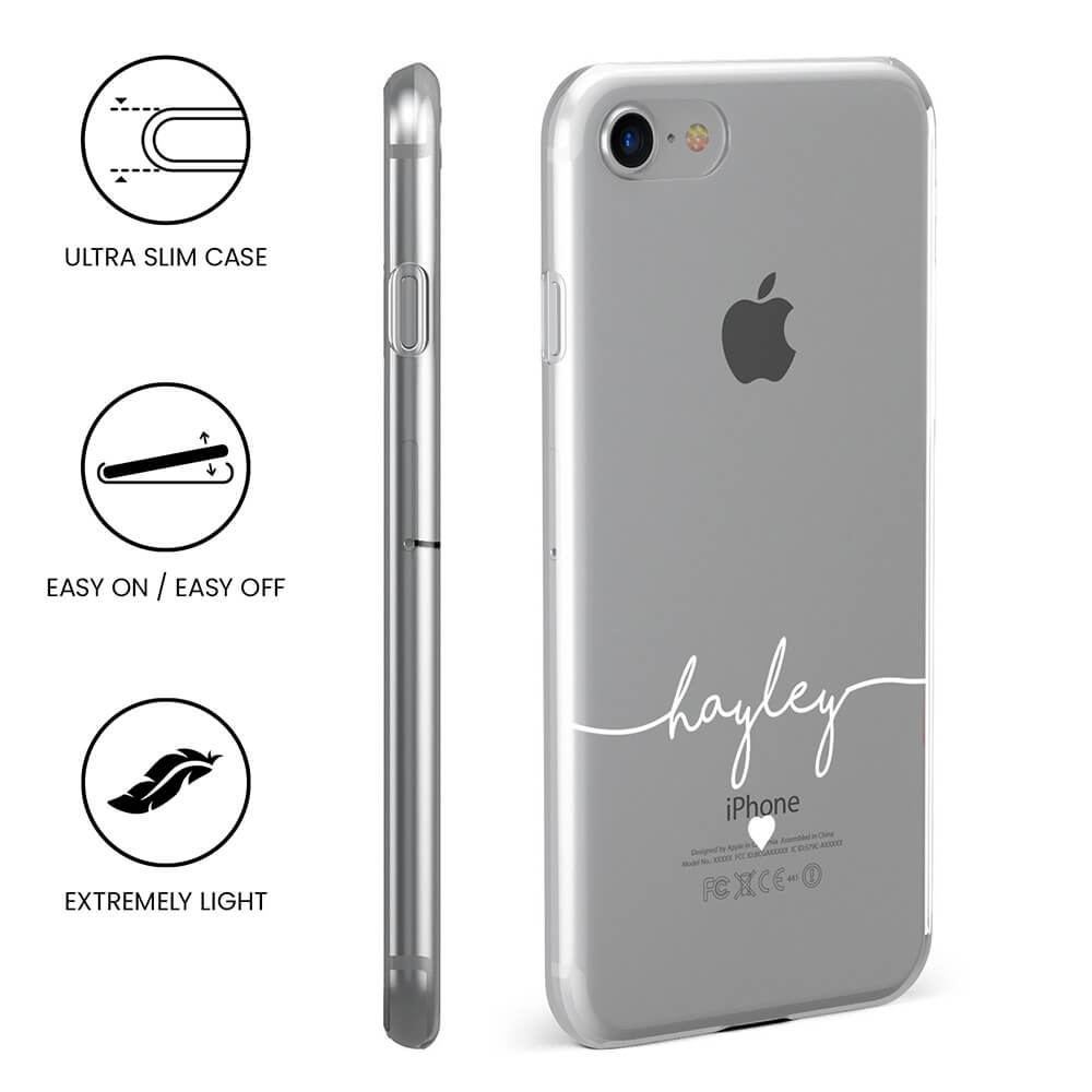 iPhone 8 Plus Clear Soft Silicone Case 14748