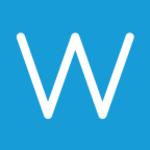 iPhone 6 Plus Case - Monogram Wallpaper Blue
