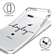 iPhone 8 Plus Clear Soft Silicone Case