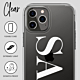 iPhone 13 Pro Max Clear Soft Silicone Case