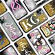 Brush Font Initial Glitter