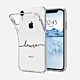 iPhone X Clear Soft Silicone Case