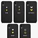 iPhone SE 2020 Genuine Leather Monogram Case