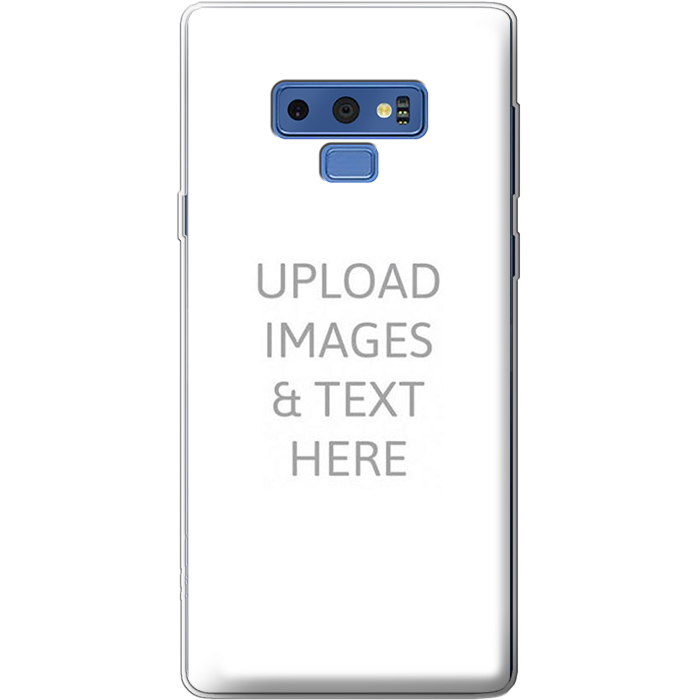 Galaxy Note 9 Clear Soft Silicone Case