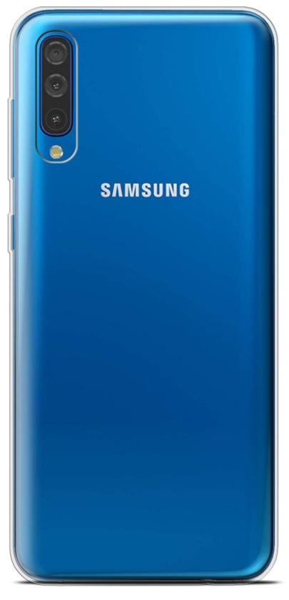 Galaxy A50 2019 Clear Soft Silicone Case