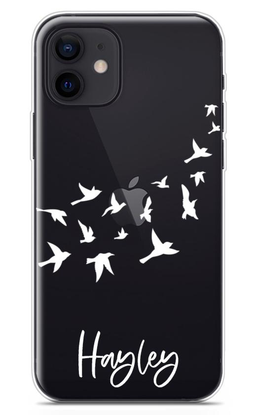 Flying Birds Clear 8756