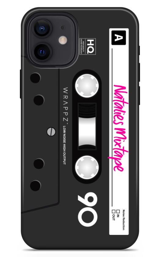 Retro Cassette Black 8435