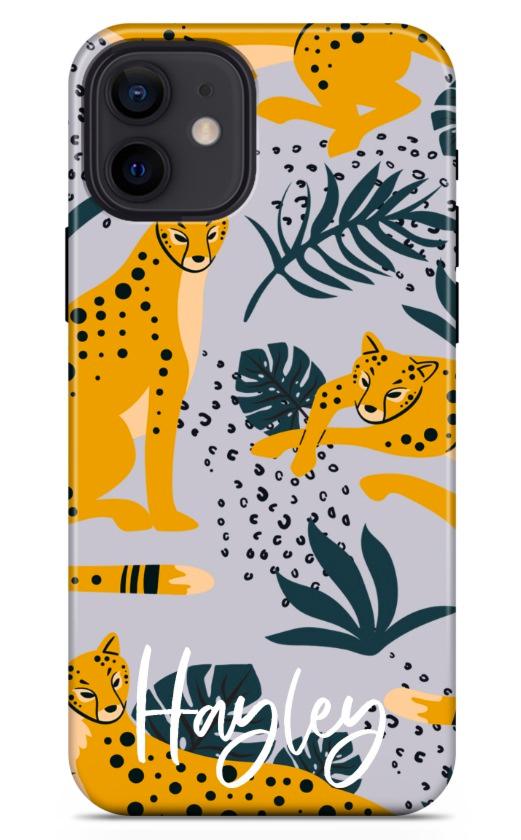 Yellow Leopard 8758