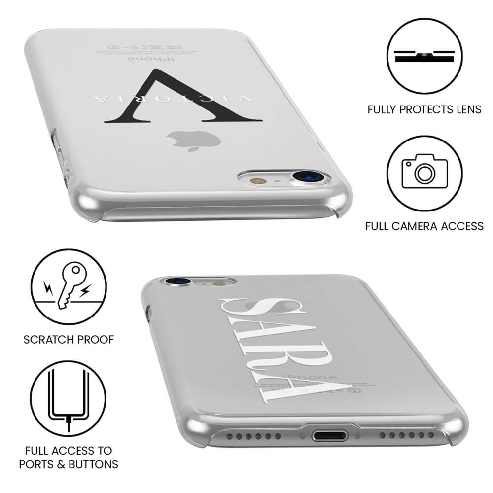 iPhone 12 Clear Soft Silicone Case
