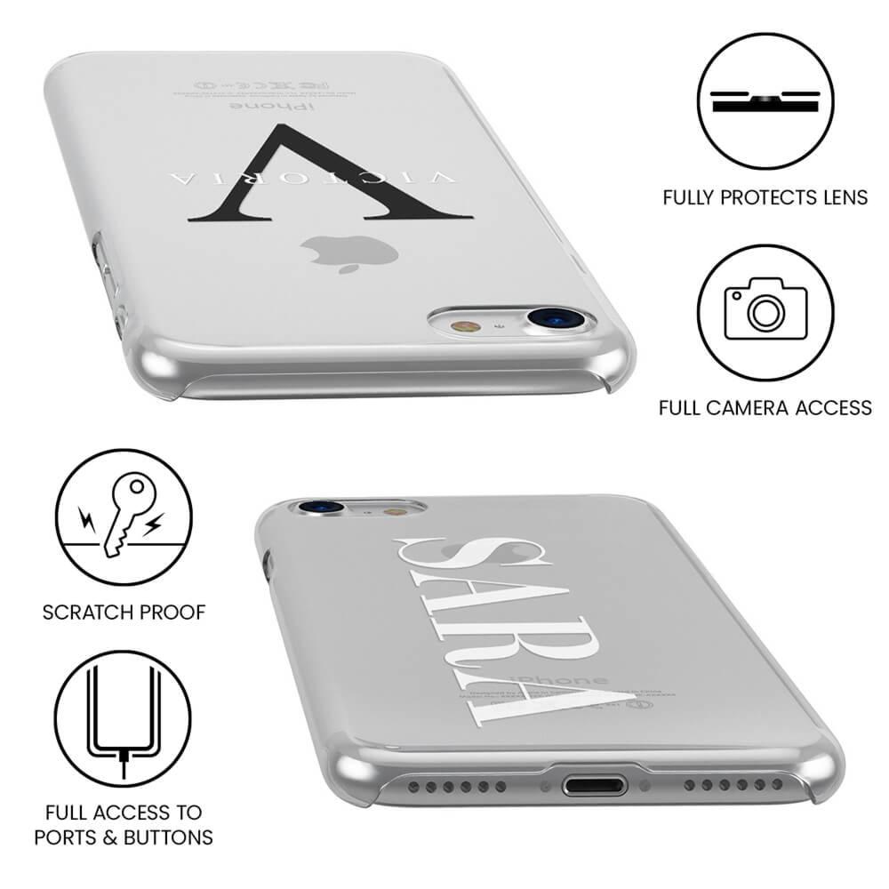 Galaxy S8 Plus Clear Soft Silicone Case
