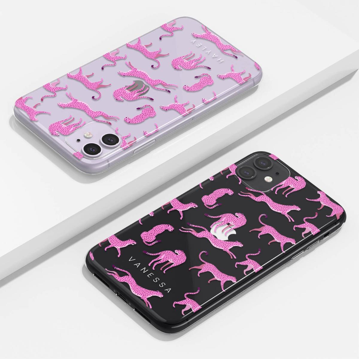 Pink Cheetah Clear