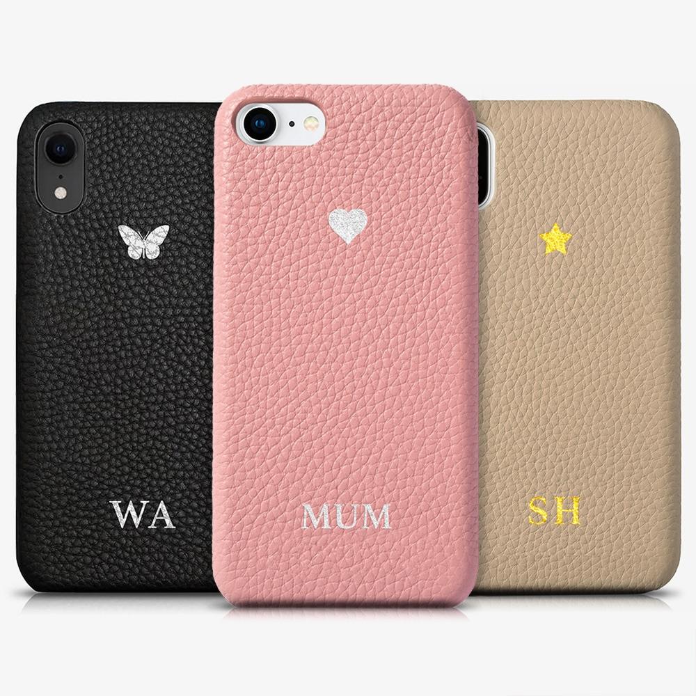 iPhone 11 Pro Max Genuine Leather Monogram Case