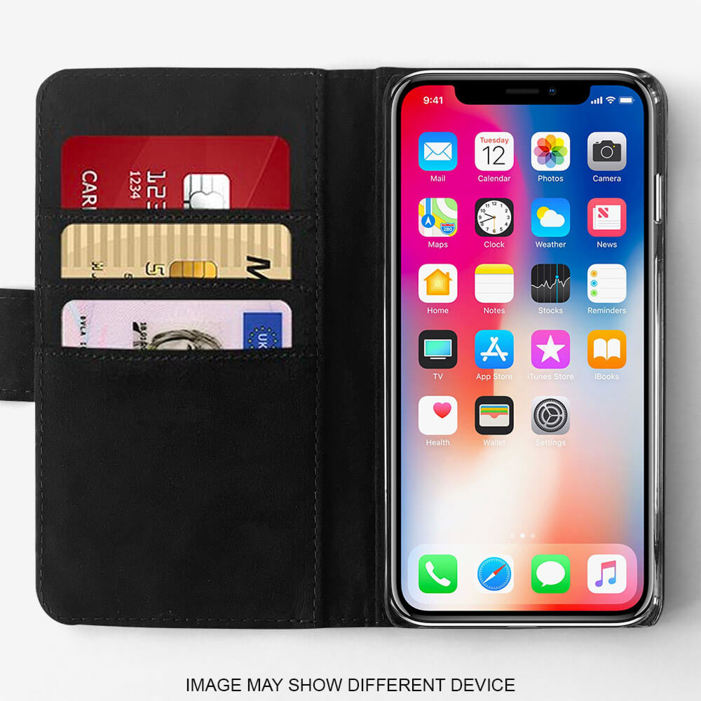 Galaxy A40 2019 Faux Leather Case