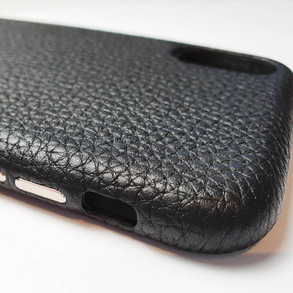 iPhone XS Genuine Leather Printed Case