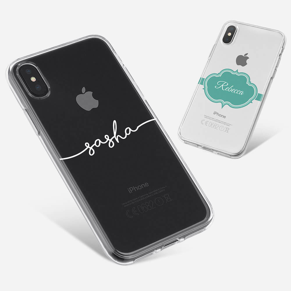 iPhone XS Max Clear Hard Case