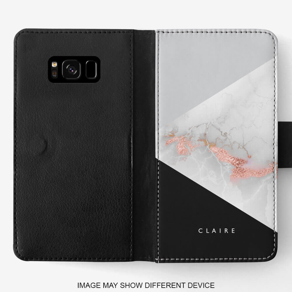 Galaxy S7 Edge Faux Leather Case
