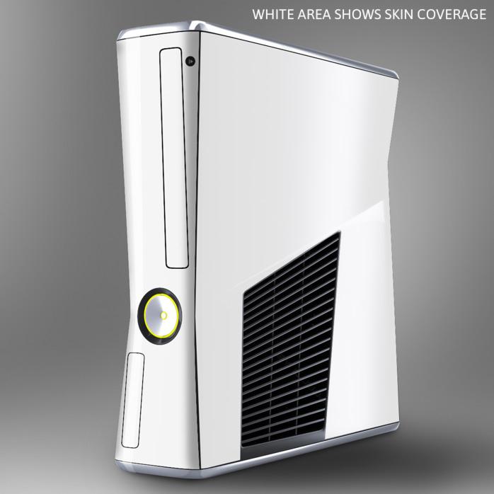 Xbox 360 Slim Console Skin