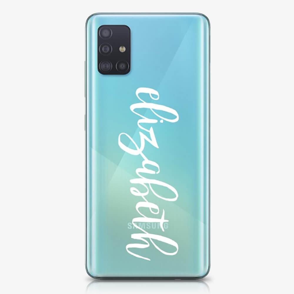 Galaxy A51 2020 Clear Soft Silicone Case 15974