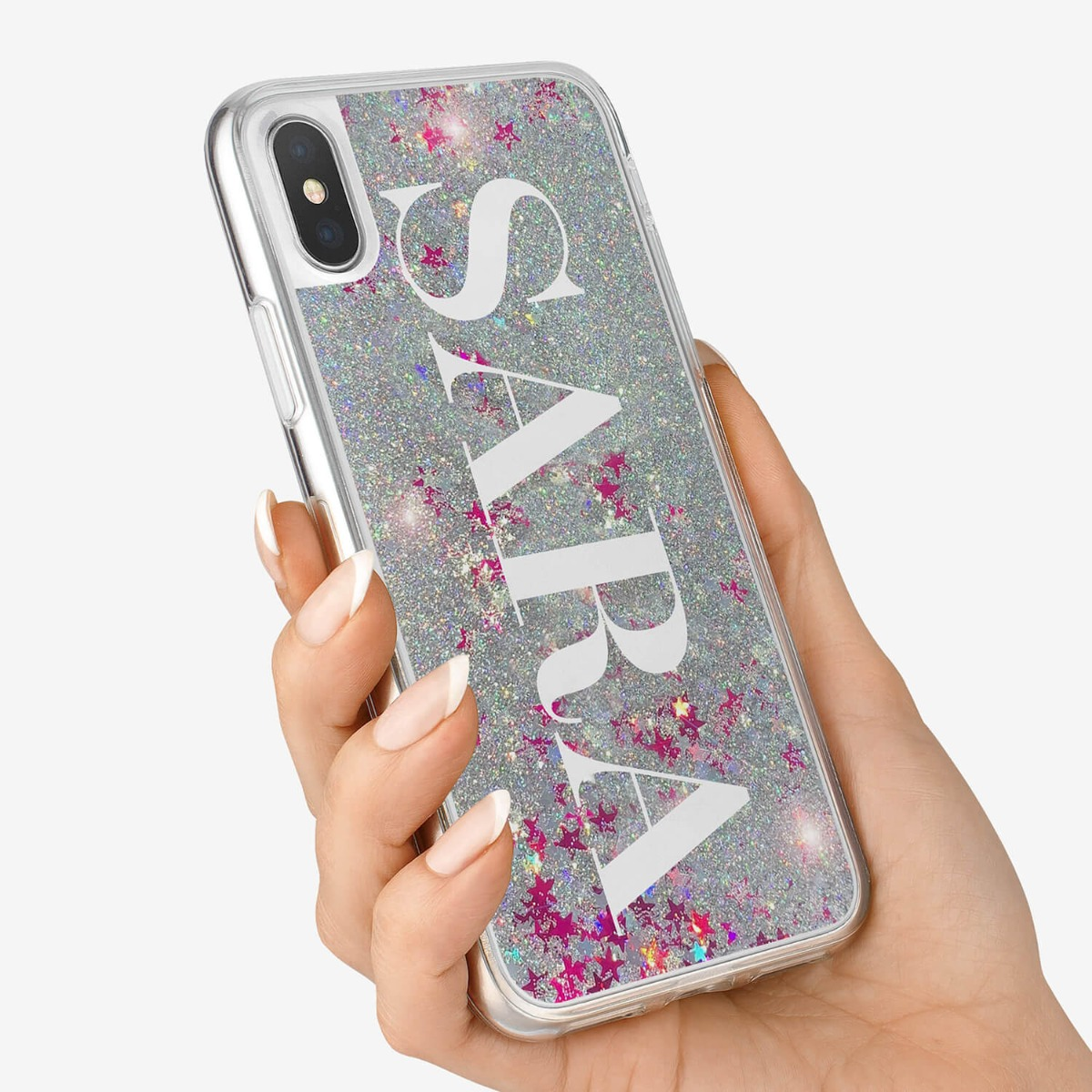 iPhone XS Glitter Case 16209
