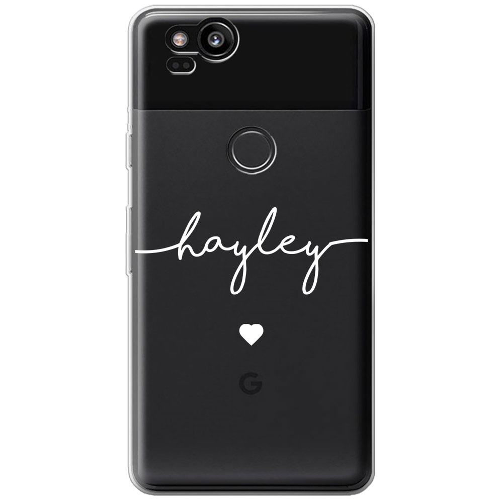 Google Pixel 2 Clear Soft Silicone Case 13378