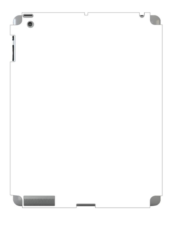 iPad 3 Skin 3880