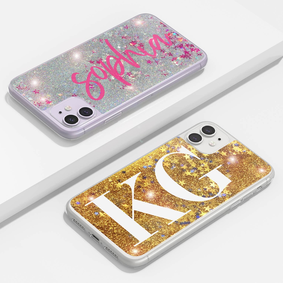 iPhone XS Glitter Case 16210