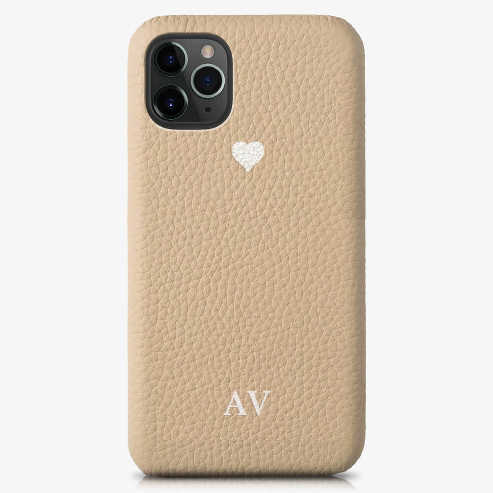 iPhone 11 Pro Max Genuine Leather Monogram Case 14420