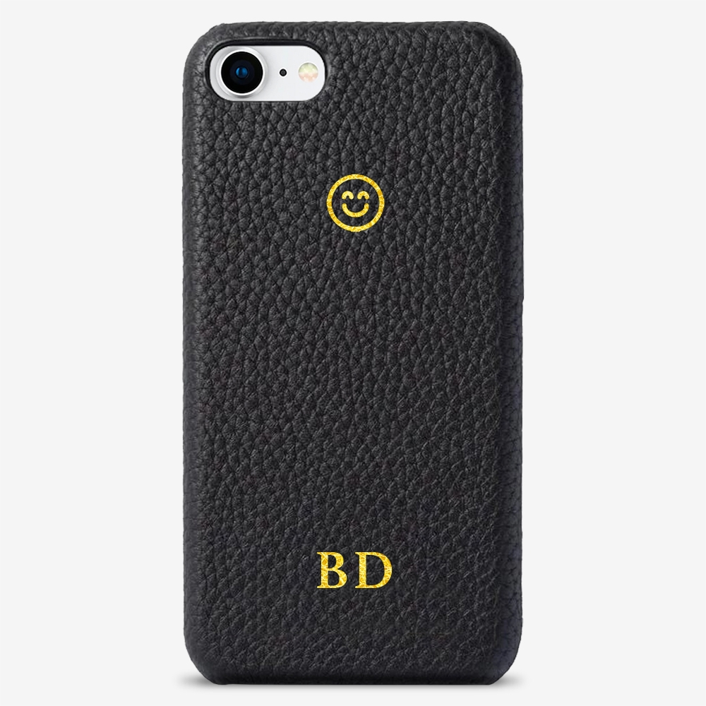 iPhone 8 Genuine Leather Monogram Case 14115