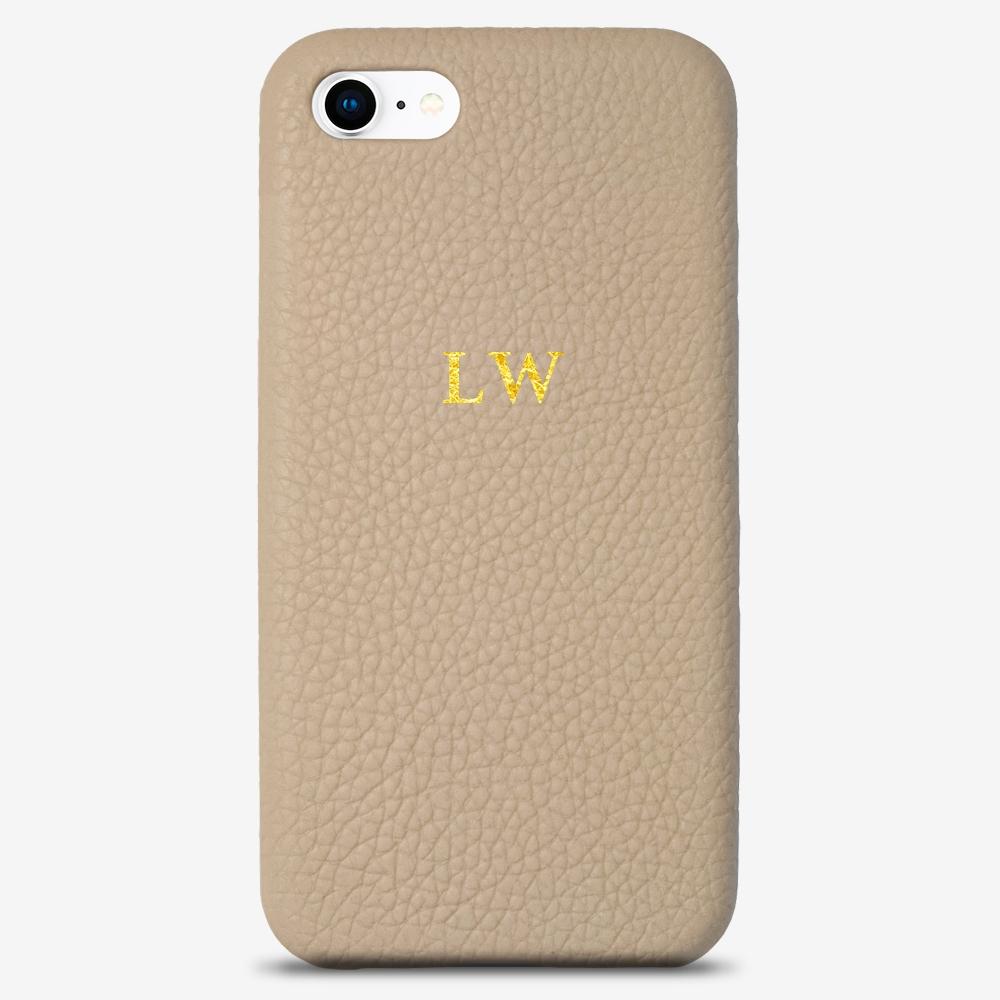 iPhone 7 Genuine Leather Monogram Case 14113