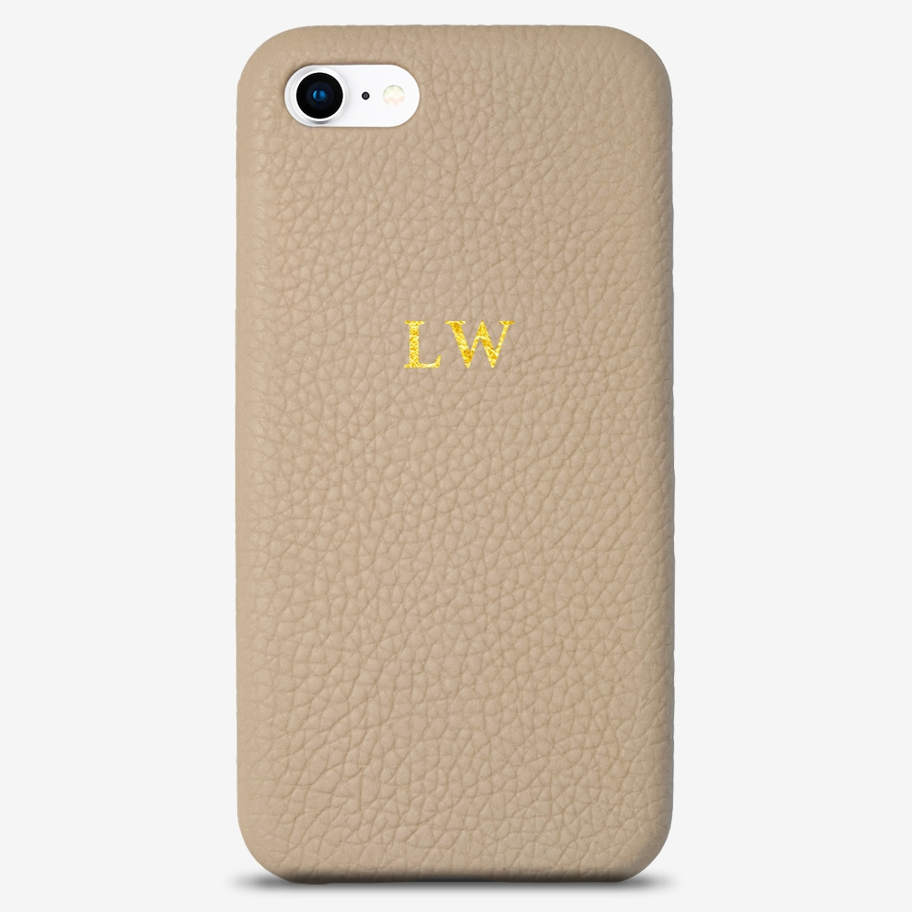 iPhone 8 Genuine Leather Monogram Case 14117