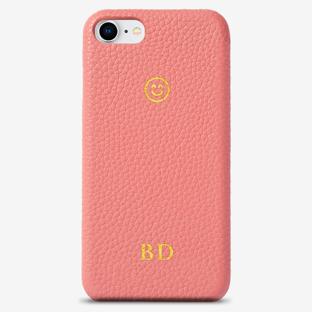 iPhone 8 Genuine Leather Monogram Case 14118