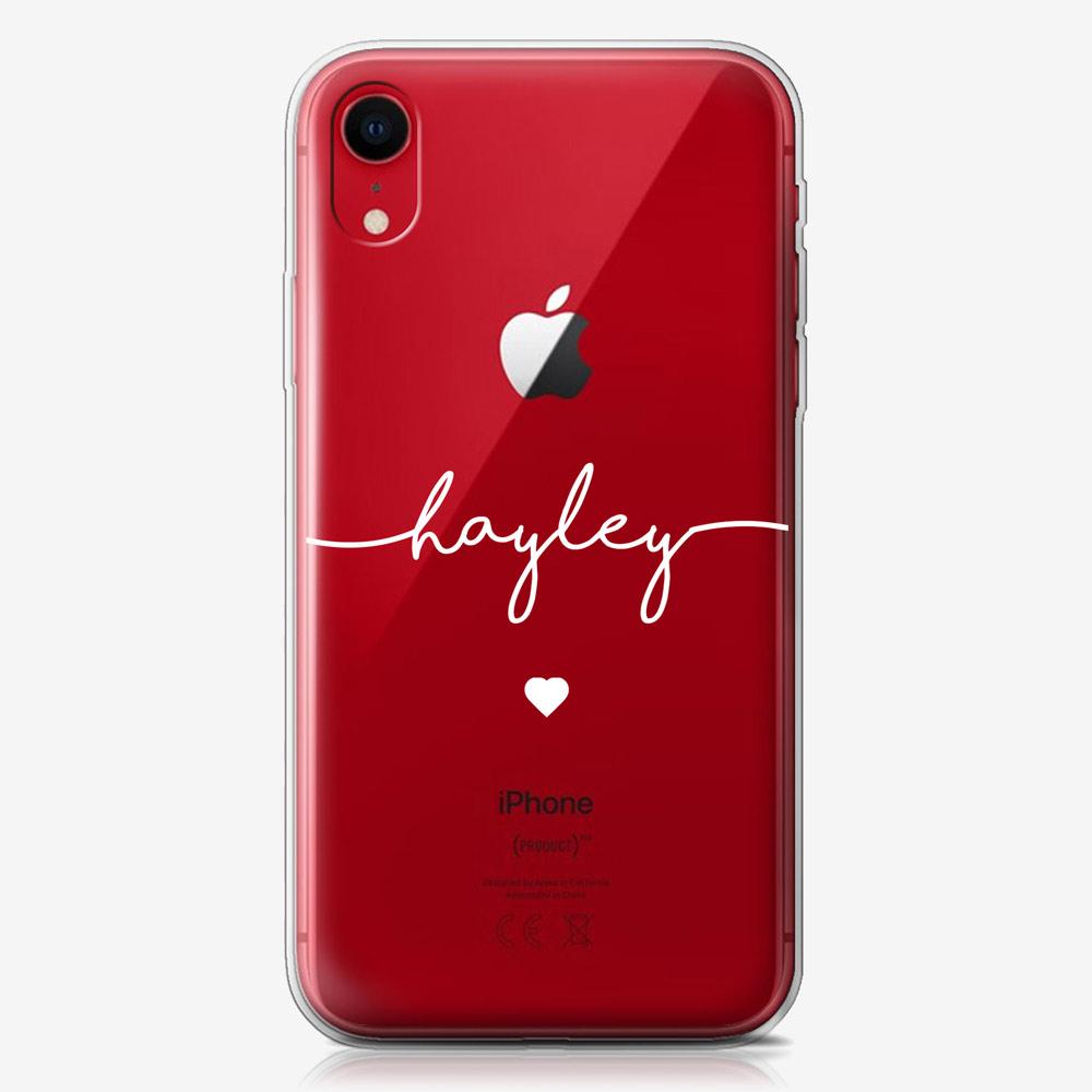 iPhone XR Clear Hard Case 13349