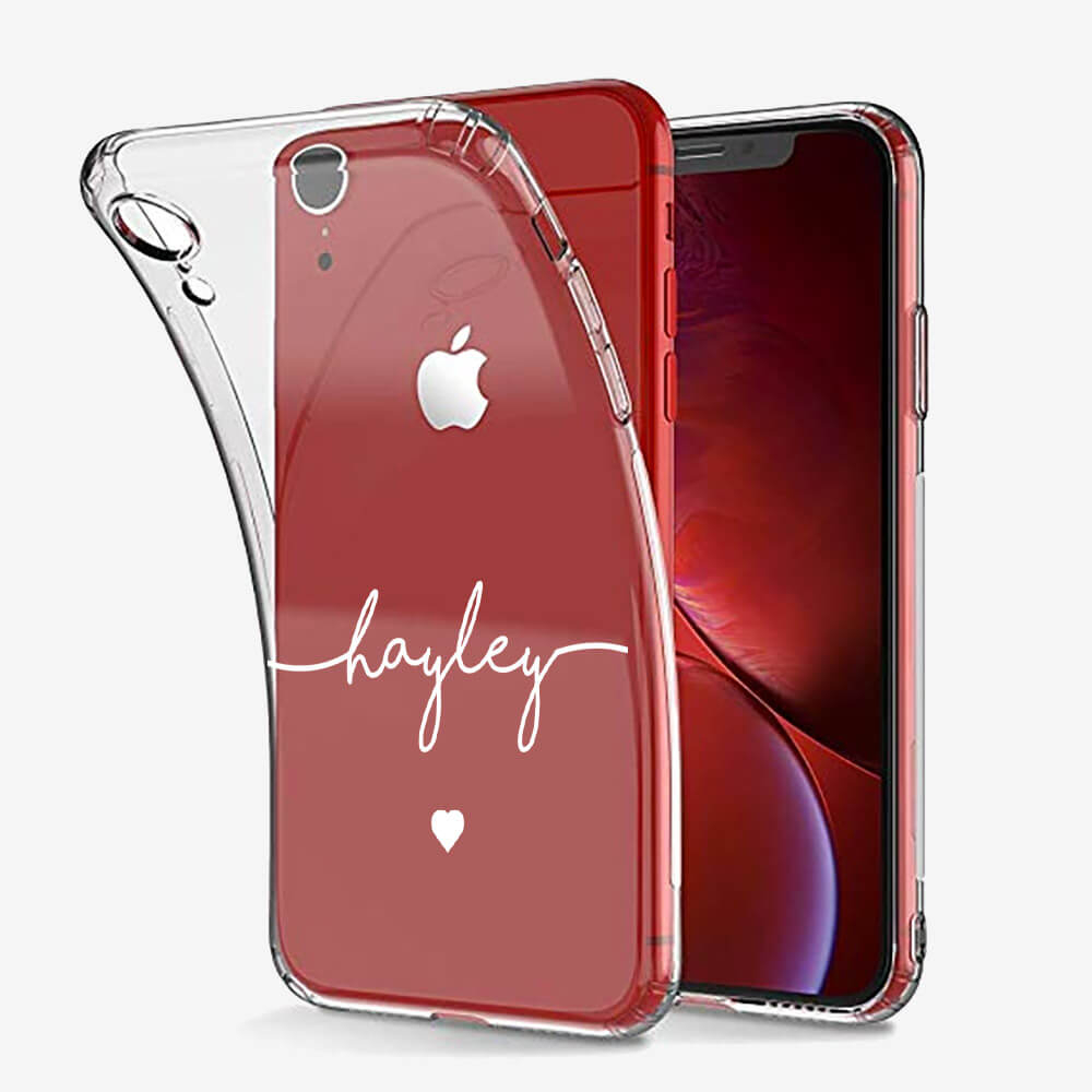 iPhone XR Clear Soft Silicone Case 13373