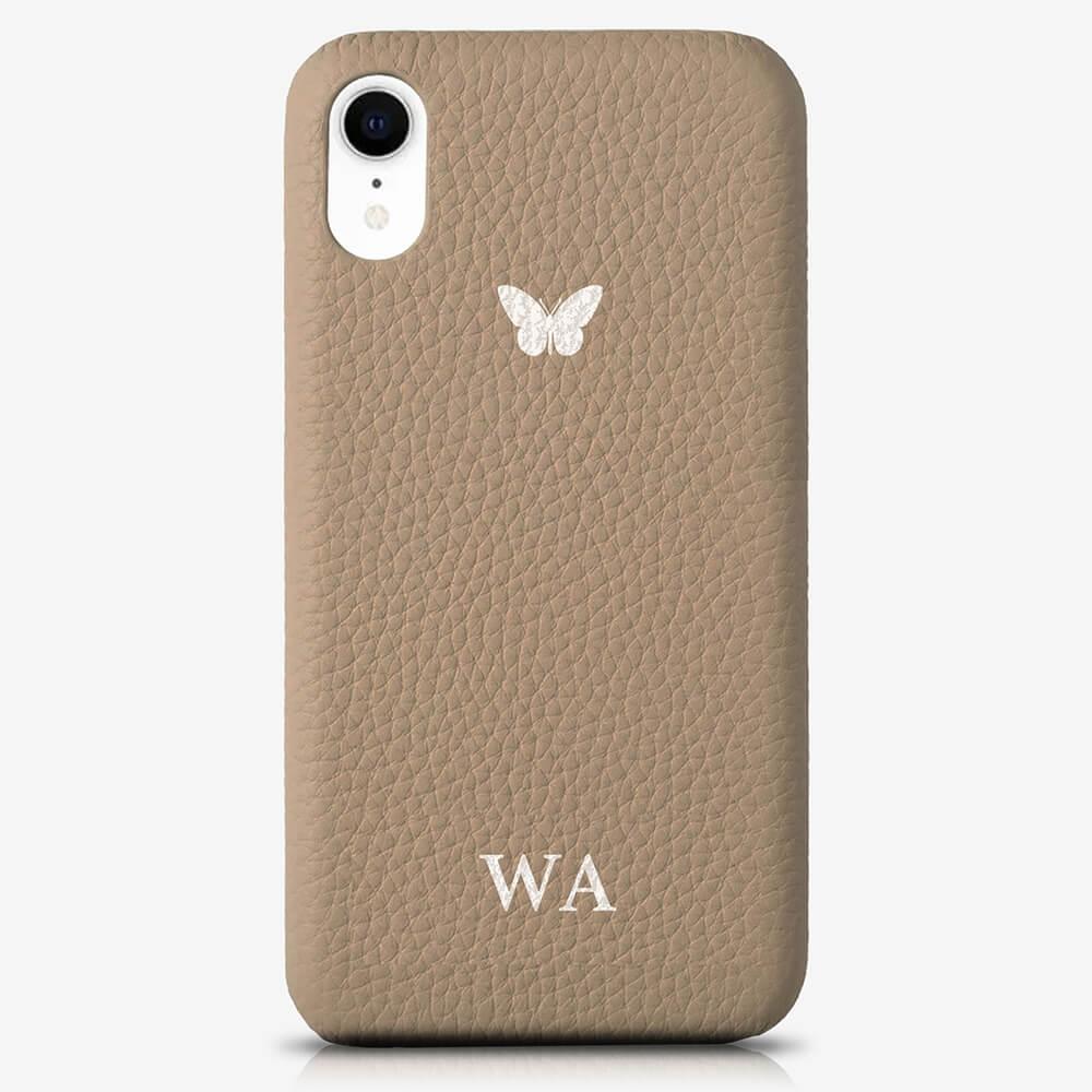 iPhone X Genuine Leather Monogram Case 14067