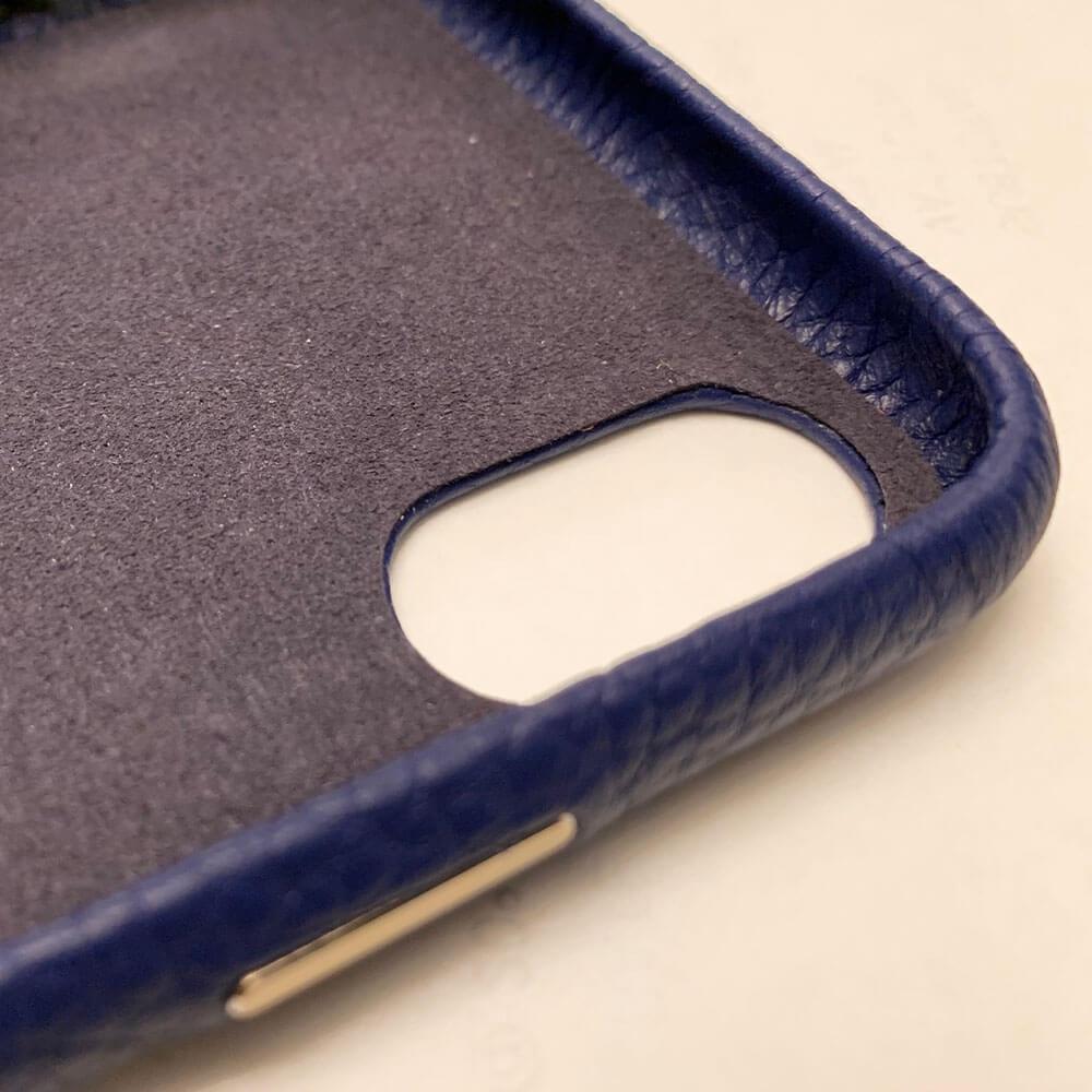 iPhone X Genuine Leather Monogram Case 14069