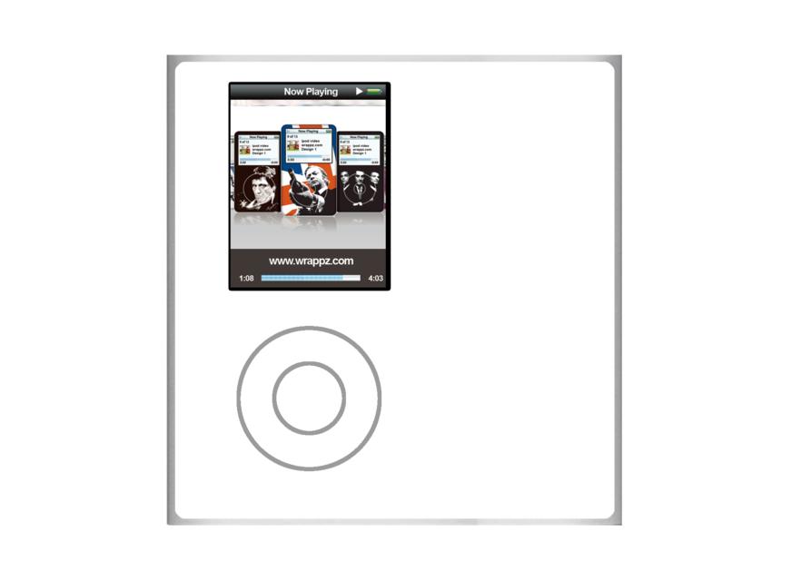 iPod Nano 4th Gen Skin 4091